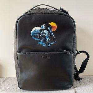 Star Wars X Coach Westway Backpack W/ Darth Vader